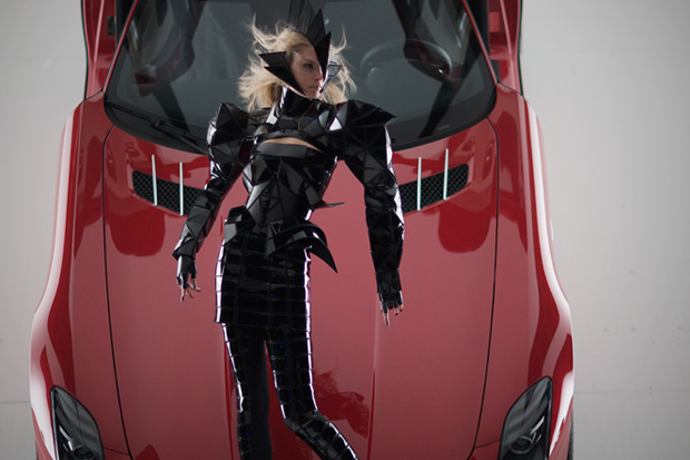 gareth pugh nick knight mercedes benz ad campaign 1 Gareth Pugh and Nick Knight for Mercedes Benz Ad Campaign