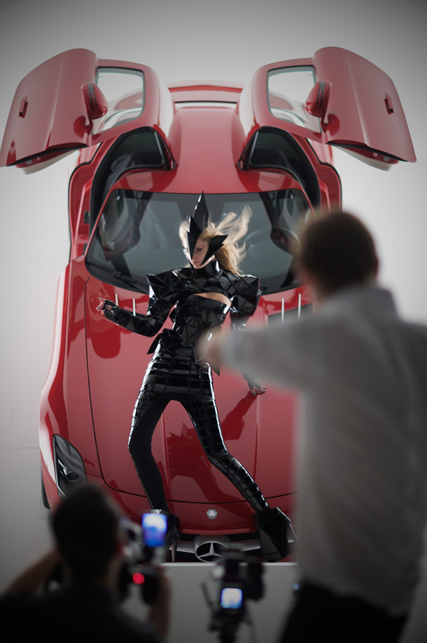 gareth pugh nick knight mercedes benz ad campaign 6 Gareth Pugh and Nick Knight for Mercedes Benz Ad Campaign
