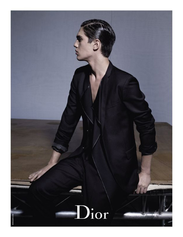 dior homme 2010 spring campaign karl lagerfeld 2 Dior Homme 2010 Spring Campaign by Karl Lagerfeld