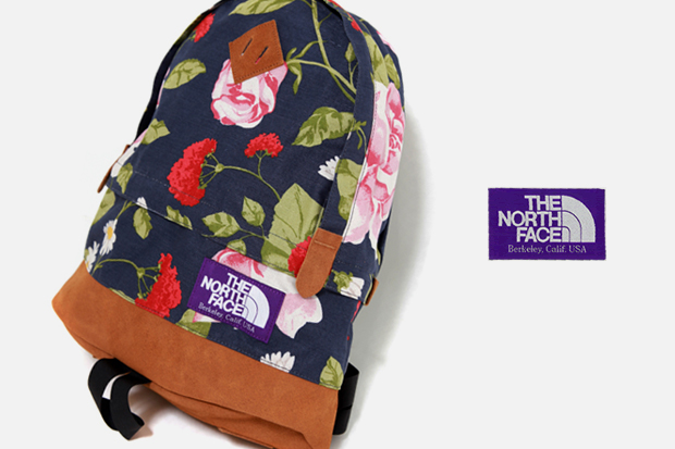the north face purple label flower backpack The North Face Purple Label 2010 Spring Flower Backpack