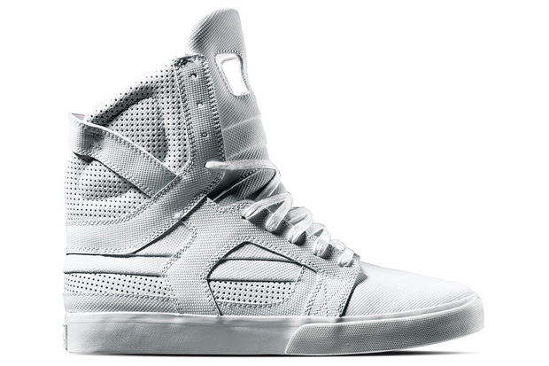 supra tuf 2010 spring white skytop Supra TUF 2010 Spring Collection White Skytop II