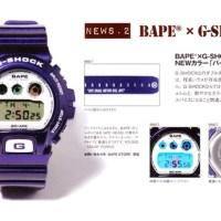 BAPE® x CASIO G-SHOCK DW-6900