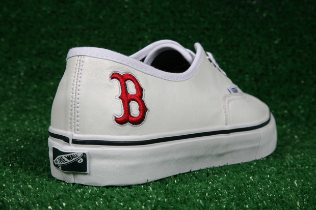 vans boston red sox pack 2  Vault by Vans x MLB Boston Red Sox Authentic LX for Bodega