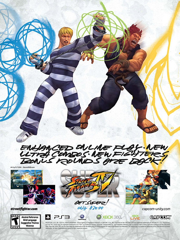 super street fighter 4 artist covers 5 Super Street Fighter IV Artist Series Posters