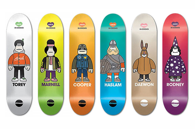 amos toys almost skateboards Amos Toys x Almost Skateboards