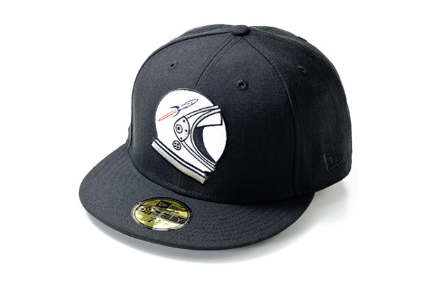 billionaire boys club new era rocket helmet fitted cap Billionaire Boys Club x New Era Rocket Helmet Fitted Cap