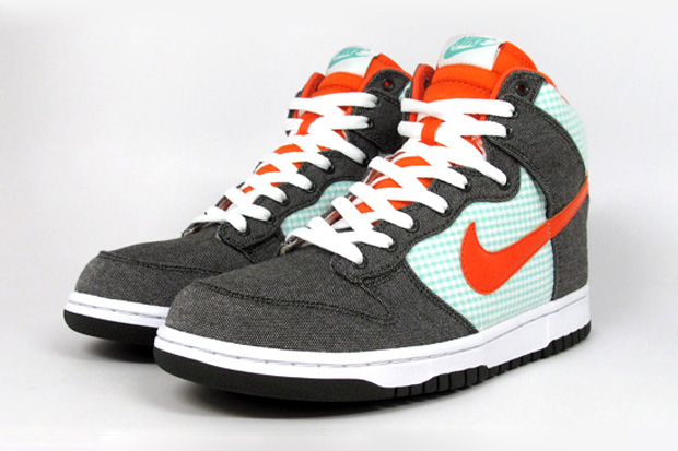 nike sb dunk high army green orange blaze mint Nike Dunk High Army Green/Orange Blaze Mint