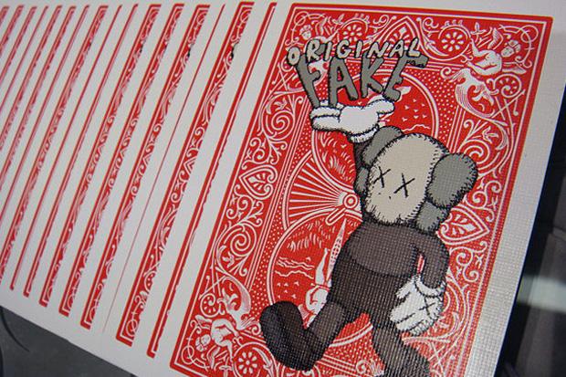 originalfake bicycle 4th anniversary playing cards 1 OriginalFake x Bicycle 4th Anniversary Playing Cards