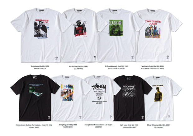 stussy deluxe greensleeves collection 4 Stussy Deluxe X Greensleeves Collection