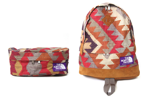 the north face purple label old kilim The North Face Purple Label Old Kilim Collection