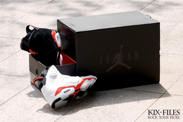 air jordan 6 infrared retro pack 2 Air Jordan 6 Infrared Retro Pack