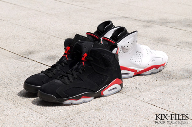 air jordan 6 infrared retro pack 3 Air Jordan 6 Infrared Retro Pack