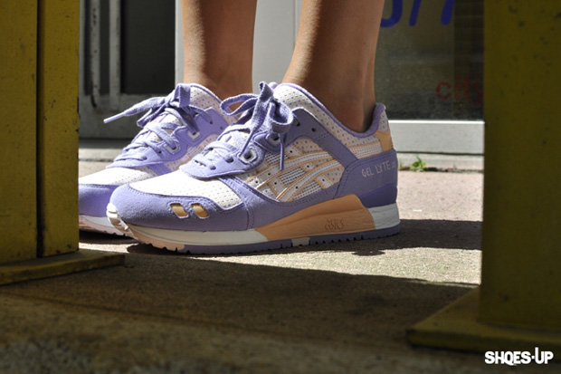 asics gel lyte 3 lavender pink orange 1 Asics Gel Lyte III Lavender/Pink/Orange