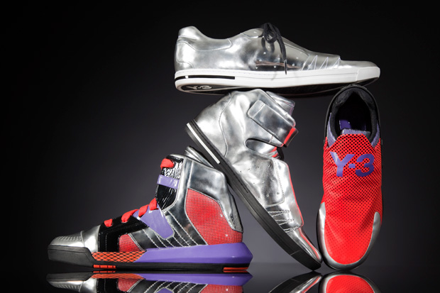 y3 2010 fallwinter metallic neo tech collection 0 Y 3 METALLIC NEO TECH Footwear Collection
