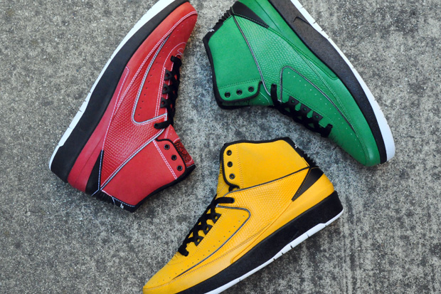 air jordan ii rasta pack 1 Air Jordan II Retro Candy Pack