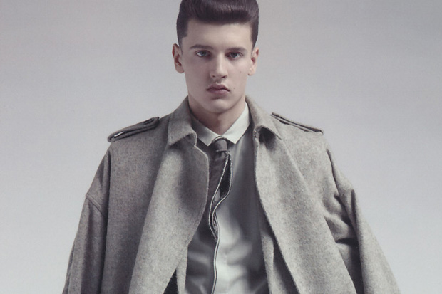 dior homme 2010 fallwinter campaign 0 Dior Homme 2010 Fall/Winter Campaign