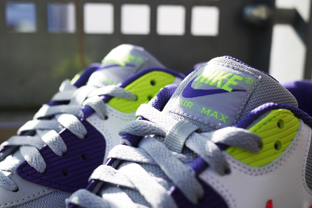 "06fe4d68594e From Footlockers ""I Am Rulers"" campaign take the popular Nike Air Max 90 and  drop some virbate colors including lime green"