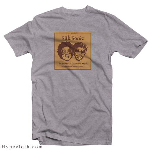 Bruno Mars Anderson Paak Silk Sonic T-Shirt