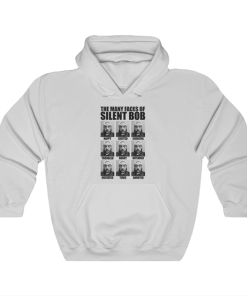 Kevin Smith The Many Faces Of Silent Bob Hoodie