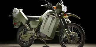 1999 Harley-Davidson MT500 Military Motorcycle