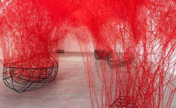 Chiharu Shiotas Uncertain Journey Exhibit