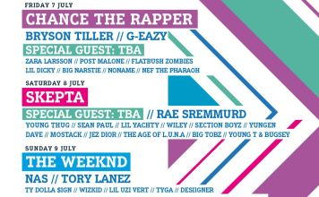 Chance The Rapper, The Weeknd, & More Headlining