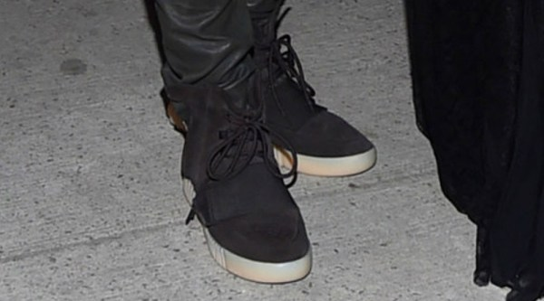 online store b2f2c a5cc3 Kanye West Rocks A New Black adidas Yeezy 750 Boost ...