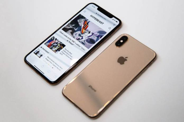 Does The iPhone XS And XS Max Have