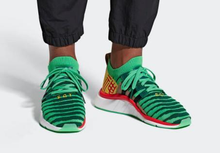 Adidas goes Super Saiyan-1