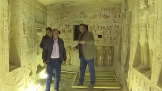Egypt Discovers Untouched Tomb