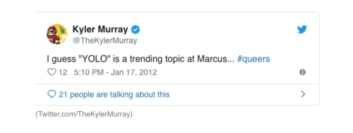 Kyler Murray Is Like Every-4