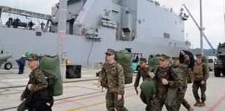 Marines still lost at Sea off the