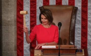 Nancy Pelosi Takes The Throne as Official House Speaker