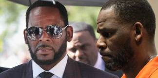 R Kelly misses his court