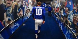 Eli Manning Announces