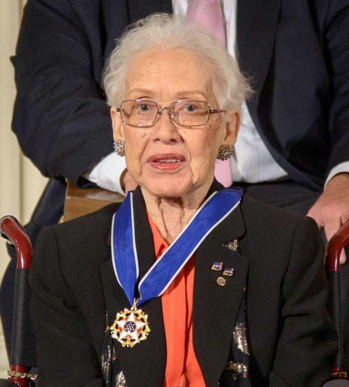 Katherine Johnson medal cropped