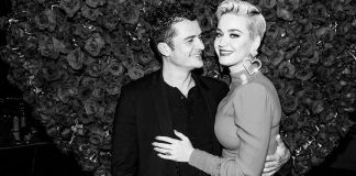 Katy Perry and Orland Bloom