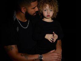 Drake Finally Stops Hiding Son