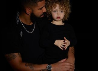 Drake Finally Stops Hiding Son
