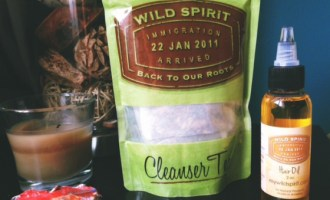 Wild Spirit Cleanser Tea and Hair Oil