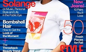 Solange Knowles Lucky Mag
