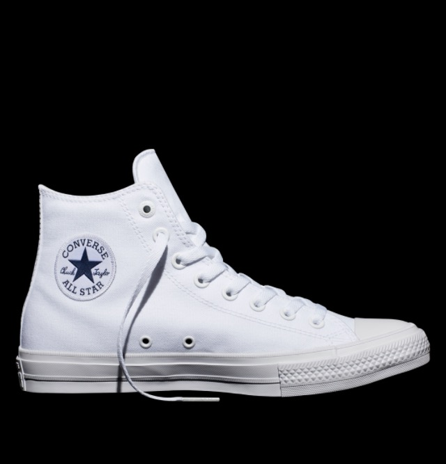 Chuck II in White