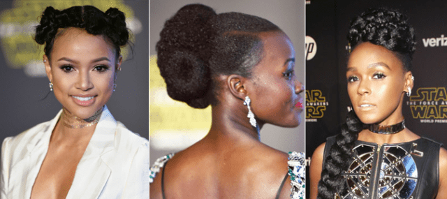 Star Wars Premiere - Karrueche, Lupita and Janelle