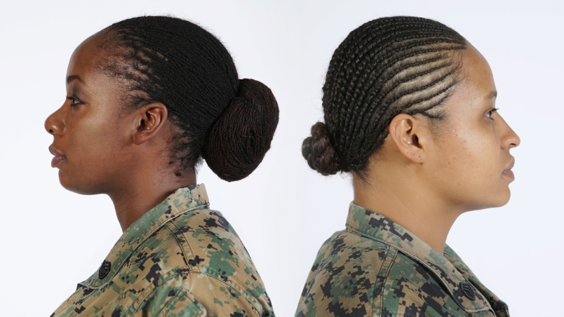 Locks And Twists Are Now Allowed In The Marines