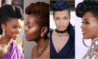Pompadour Inspired Hairstyles