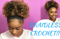 Braidless Crochet Tutorial