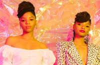 Chloe xHalle -- Nylon April 2018