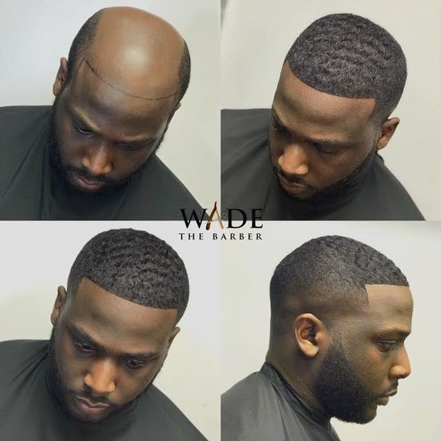 man weaves x Wade The barber