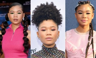 Storm Reid X Hype Hair Crush