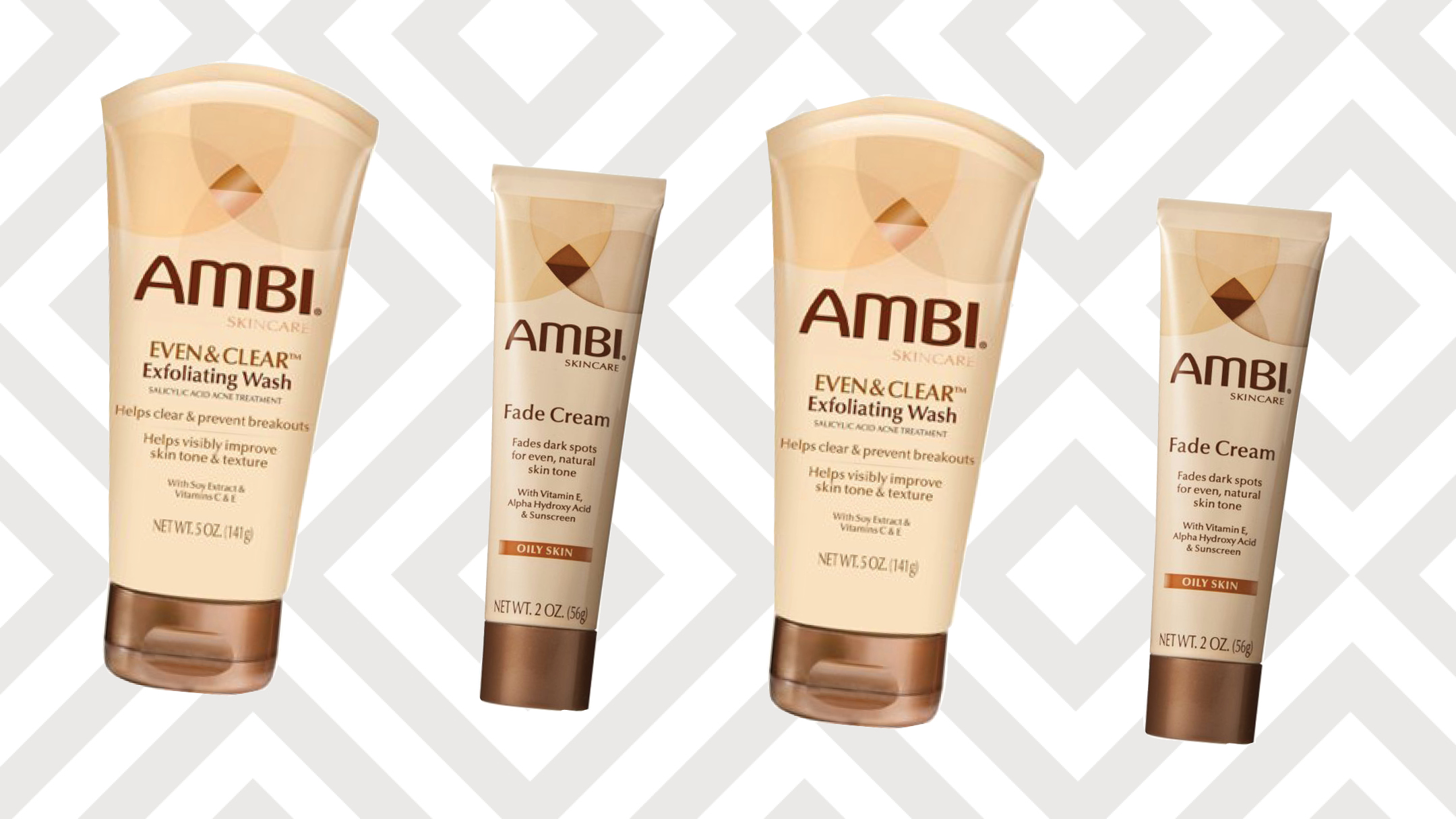 AMBI Giveaway X Exfoliating wash & fade cream